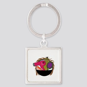 Hair Styling Tools Keychains