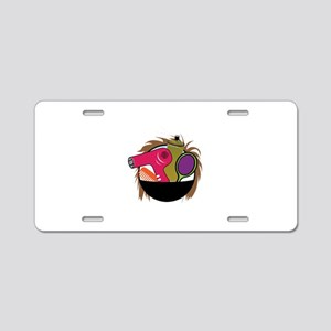 Hair Styling Tools Aluminum License Plate