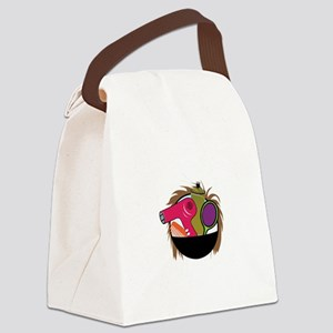 Hair Styling Tools Canvas Lunch Bag