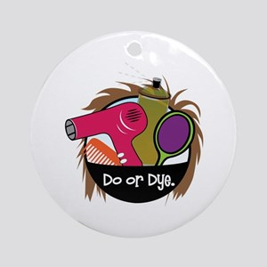 Do or Dye Ornament (Round)