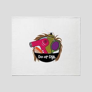 Do or Dye Throw Blanket