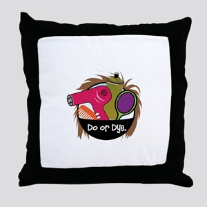 Do or Dye Throw Pillow