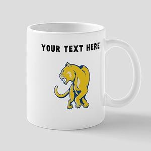 Custom Gold Panther Mugs