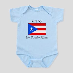 Kiss Me Im Puerto Rican Body Suit