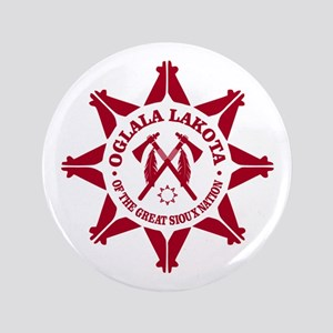 "Oglala Lakota 3.5"" Button"
