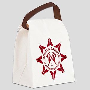 Oglala Lakota Canvas Lunch Bag