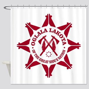 Oglala Lakota Shower Curtain
