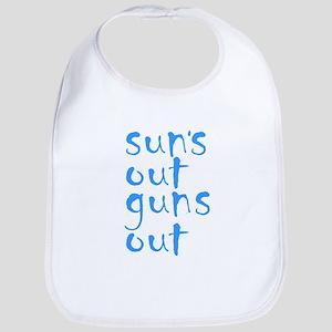 suns out guns out Bib
