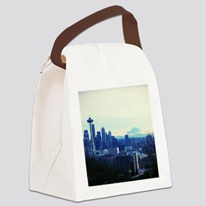 Seattle 2 Canvas Lunch Bag