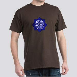 Lotus Blue6 Dark T-Shirt