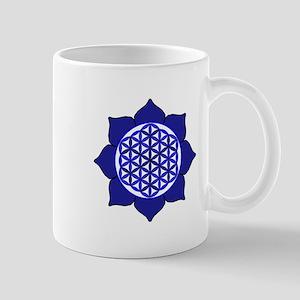 Lotus Blue6 Mug