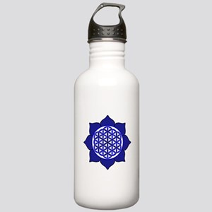 Lotus Blue6 Stainless Water Bottle 1.0L