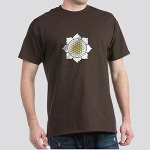Lotus White Dark T-Shirt