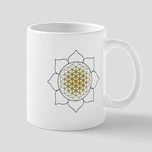 Lotus White Mug