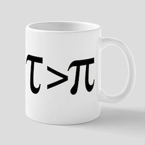 Tau Greater than Pi Mugs