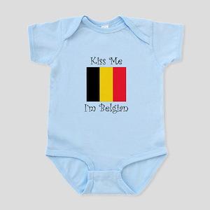 Kiss Me Im Belgian Body Suit