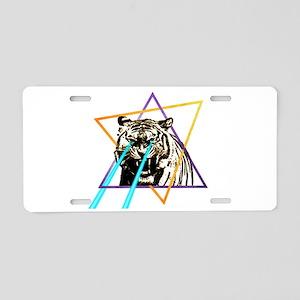 Laser Tiger Aluminum License Plate