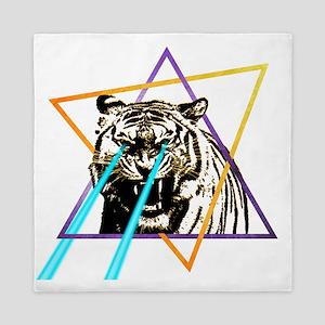 Laser Tiger Queen Duvet
