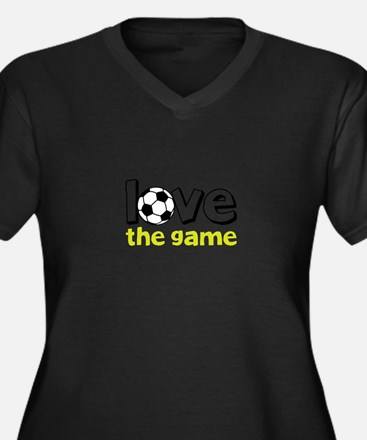 love the game Plus Size T-Shirt