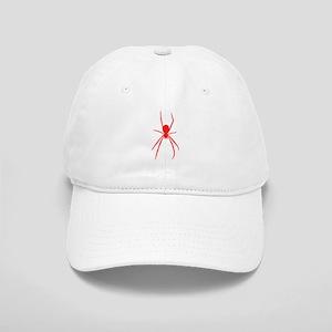 Red Black Widow Spider Baseball Cap