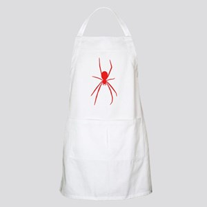 Red Black Widow Spider Apron