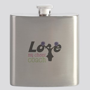 Love my cheer coach Flask