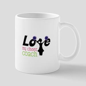 Love my cheer coach Mugs