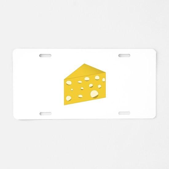 Swiss Cheese Aluminum License Plate