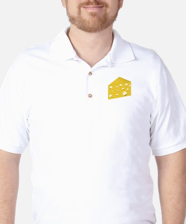 Swiss Cheese Golf Shirt