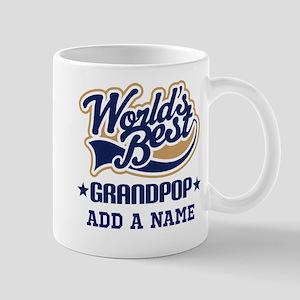 Worlds Best Grandpop (personalized) Mugs