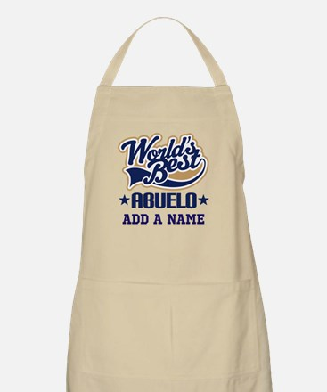 Personalized Worlds Best Abuelo Apron