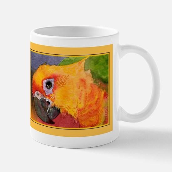 Sun Conure Parrot  Mug