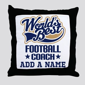 Football Coach (personalized) Throw Pillow