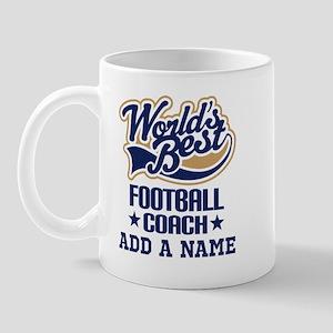 Football Coach (personalized) Mugs