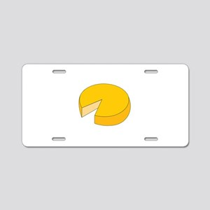Cheese Wheel Aluminum License Plate