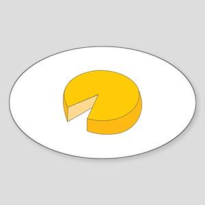 Cheese Wheel Sticker