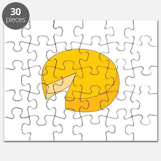 Cheese Wheel Puzzle