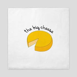 the big cheese Queen Duvet