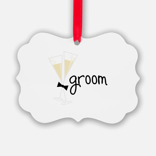 groom Ornament