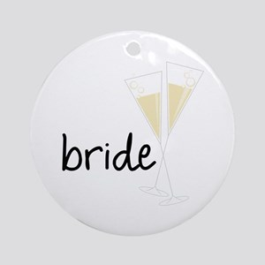 bride Ornament (Round)