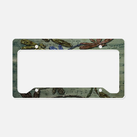 Dragonfly Song License Plate Holder