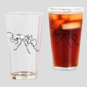 Carpenter Ant Drinking Glass