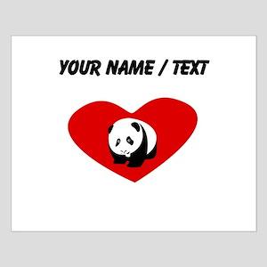 Custom Panda Heart Posters