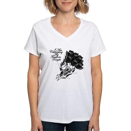 Freedom Tonight Black Roses T-Shirt
