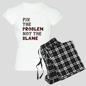 Fix The Problem Not Blame Women's Light Pajamas
