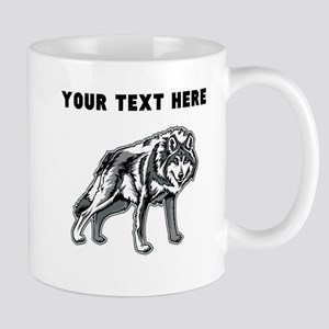 Custom Arctic Wolf Mugs