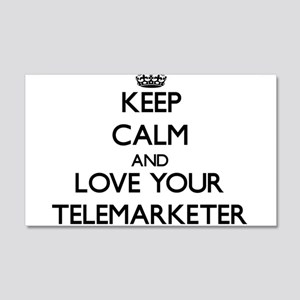 Keep Calm and Love your Telemarketer Wall Decal