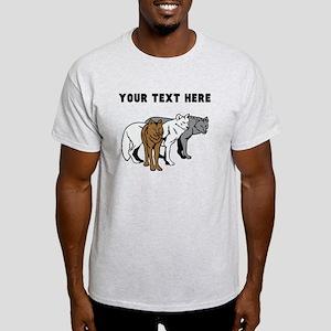 Custom Wolf Pack T-Shirt