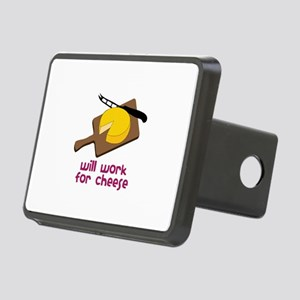Will Work For Cheese Hitch Cover