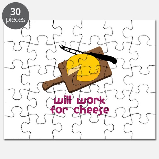 Will Work For Cheese Puzzle